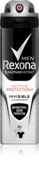 Rexona Active Protection+ Invisible антиперспірант спрей для чоловіків