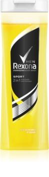 Rexona Sport sprchový gel a šampon 2 v 1