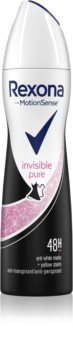 Rexona Invisible Pure antitranspirante em spray