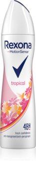Rexona Fragrance Tropical antiperspirant ve spreji 48h