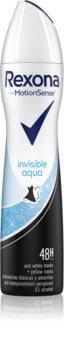 Rexona Invisible Aqua antiperspirant ve spreji