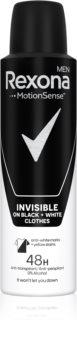 Rexona Invisible on Black + White Clothes antiperspirant ve spreji 48h