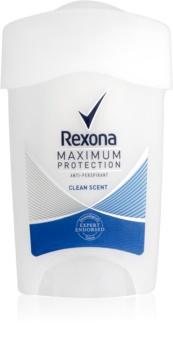 Rexona Maximum Protection Clean Scent krémový antiperspirant 48h