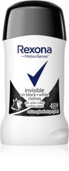 Rexona Invisible Black + White Diamond tuhý antiperspirant 48h