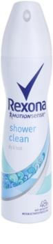 Rexona Dry & Fresh Shower Clean antiperspirant v spreji 48h