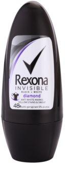 Rexona Invisible Black + White Diamond antiperspirant roll-on