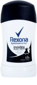 Rexona Invisible Black + White Diamond твърд антиперспирант 48 часа