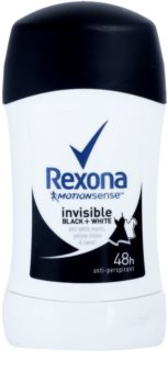 Rexona Invisible Black + White Diamond festes Antitranspirant 48 Std.