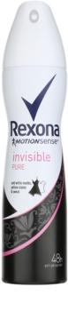 Rexona Invisible Pure antitranspirante en spray