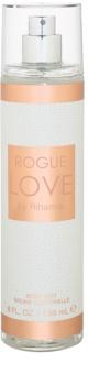 Rihanna Rogue Love tělový sprej pro ženy 236 ml
