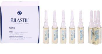 Rilastil Breast učvrstitveni serum za dekolte in prsi v ampulah