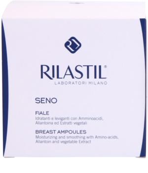 Rilastil Breast zpevňující sérum na dekolt a poprsí v ampulích