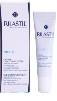 Rilastil Micro Eye Cream To Treat Wrinkles, Swelling And Dark Circles