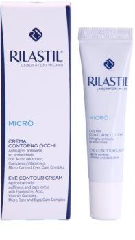 Rilastil Micro oční krém proti vráskám, otokům a tmavým kruhům