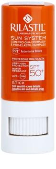 Rilastil Sun System ochranný balzám na rty a citlivá místa SPF50+