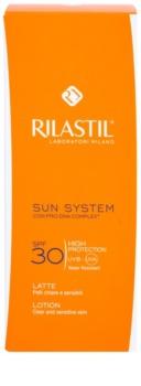 Rilastil Sun System захисне молочко для засмаги SPF 30