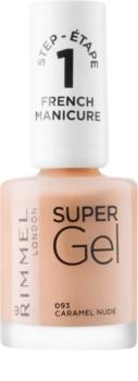 Rimmel Super Gel Step 1 esmalte en gel para manicura francesa
