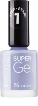 Rimmel Super Gel Step 1 gelový lak na nehty bez užití UV/LED lampy
