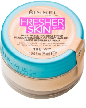 Rimmel Fresher Skin ультра легкий тональний крем SPF 15