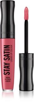 Rimmel Stay Satin barra de labios efecto seda