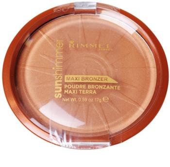 Rimmel Sun Shimmer Maxi Bronzer bronzujúci púder