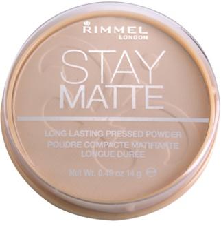 Rimmel Stay Matte polvos