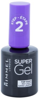 Rimmel Super Gel Step 2 zaščitni  nadlak za nohte s sijajem