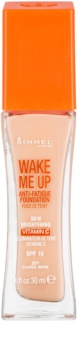 Rimmel Wake Me Up rozjasňující tekutý make-up SPF 15