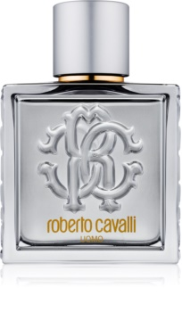 Roberto Cavalli Uomo Silver Essence Eau de Toilette for Men 100 ml