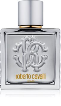 Roberto Cavalli Uomo Silver Essence Eau de Toilette para homens 100 ml