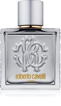 Roberto Cavalli Uomo Silver Essence eau de toilette per uomo 100 ml
