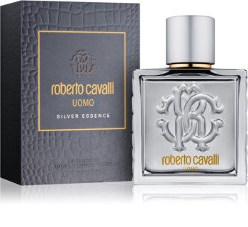 Roberto Cavalli Uomo Silver Essence toaletní voda pro muže 100 ml
