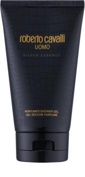 Roberto Cavalli Uomo Silver Essence gel de dus pentru barbati 150 ml