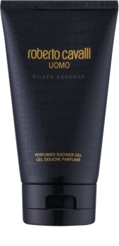 Roberto Cavalli Uomo Silver Essence Shower Gel for Men 150 ml