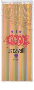 Roberto Cavalli Just Cavalli I Love Her Eau de Toilette para mulheres 60 ml