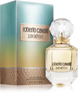 Roberto Cavalli Paradiso eau de parfum pentru femei 75 ml