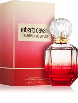 Roberto Cavalli Paradiso Assoluto parfumska voda za ženske 75 ml