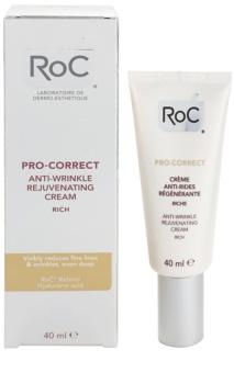 RoC Pro-Correct regeneračný krém proti vráskam