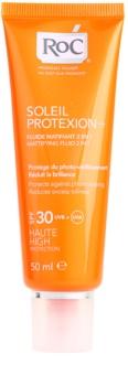 RoC Soleil Protect fluid matifiant pentru plaja SPF 30