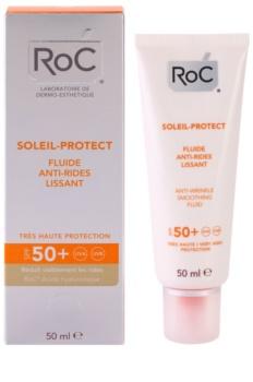 RoC Soleil Protexion+ Beschermende Anti-Rimpel Fluid  SPF50+