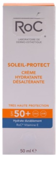 RoC Soleil Protexion+ Moisturizing Sun Lotion SPF 50+