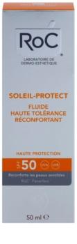 RoC Soleil Protect fluido de proteção para a pele muito sensível SPF 50