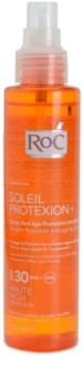 RoC Soleil Protect spray transparent pentru bronzat SPF 30