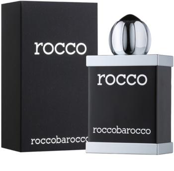 Roccobarocco Rocco Black For Men eau de toilette pentru barbati 100 ml