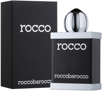Roccobarocco Rocco Black For Men Eau de Toilette voor Mannen 100 ml