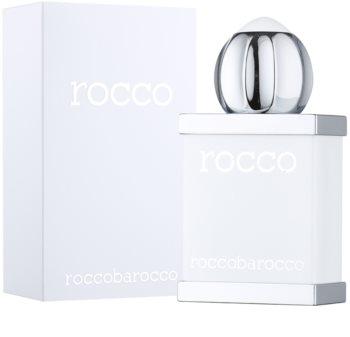 Roccobarocco Rocco White For Men toaletní voda pro muže 100 ml