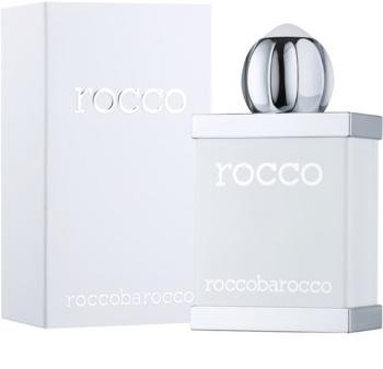 Roccobarocco Rocco White For Men toaletní voda pro muže 50 ml