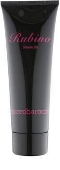 Roccobarocco Rubino gel douche pour femme 250 ml