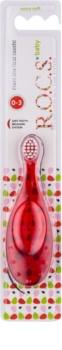 R.O.C.S. Baby Zahnbürste für Kinder extra soft