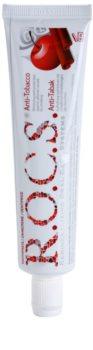 R.O.C.S. Anti-Tobacco pasta dentífrica para fumadores com efeito branqueador